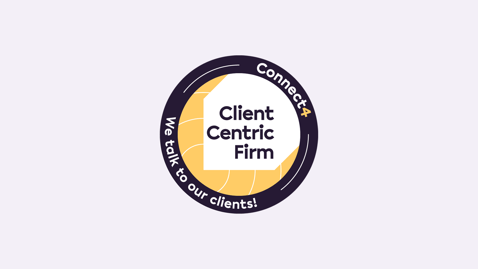 Client Centric Firm badge