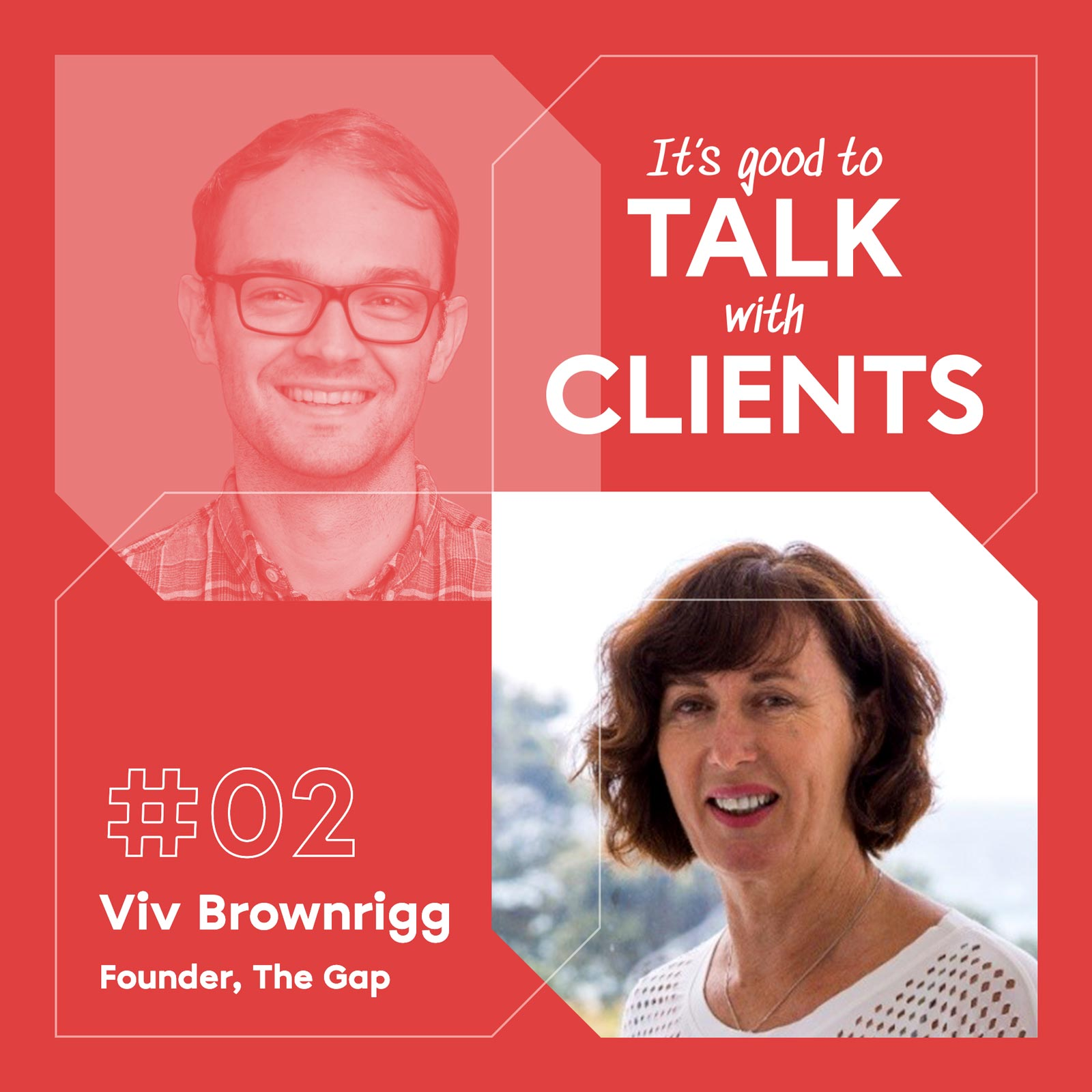 It's good to talk with... Viv Brownrigg