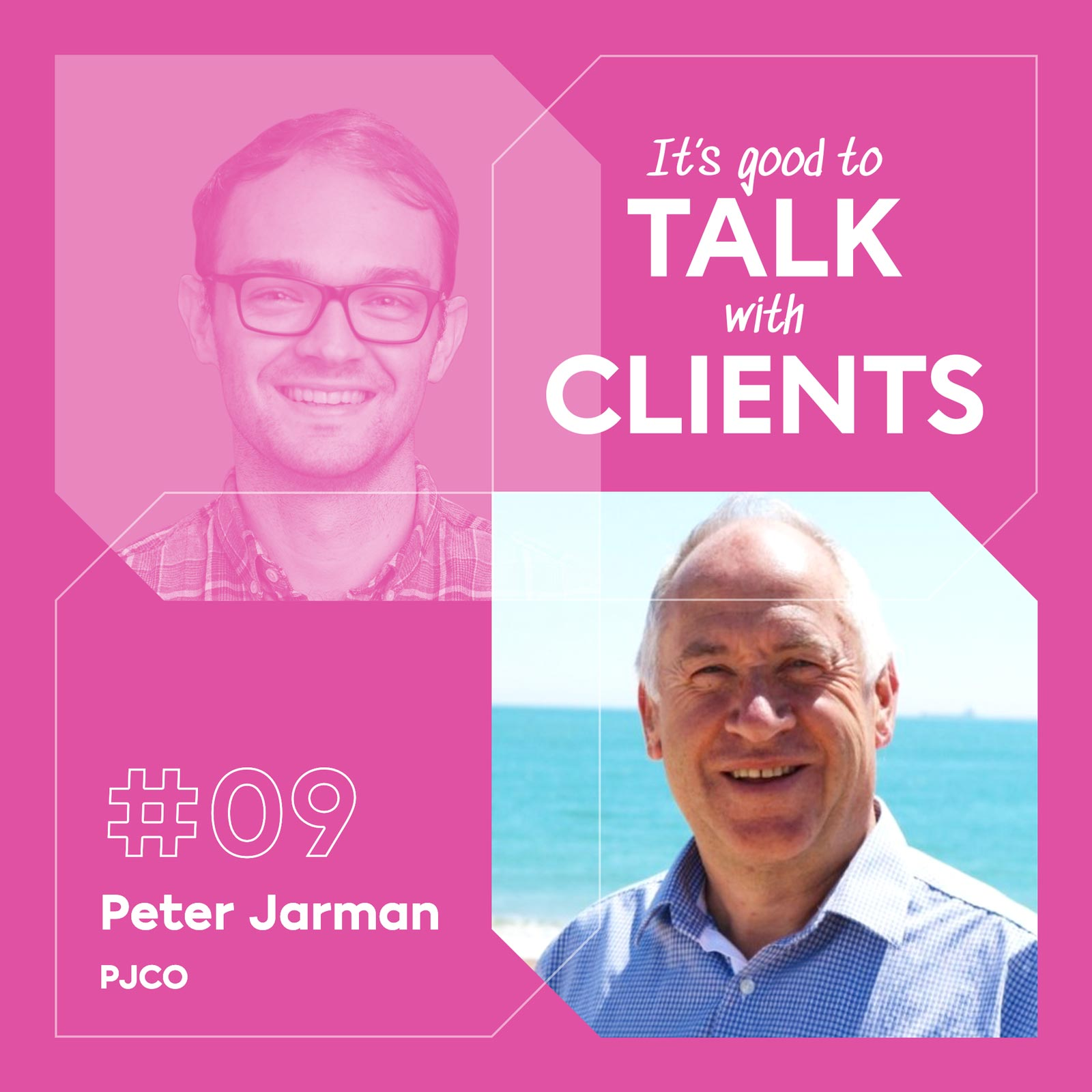 It's good to talk with... Peter Jarman, PJCO